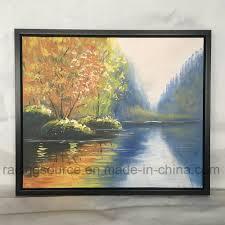 china framed wall art canvas prints acrylic paint landscape oil painting china oil painting wall art
