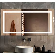Try the suggestions below or type a new query above. Buy Large Led Bathroom Vanity Mirror For Wall 48 X 24 Inch Anti Fog Touch Control Dimmable Mirror Ul Certification Makeup Mirror With Lights Fog Free Frameless Smart Mirror Online In Turkey B08k8ps2pf