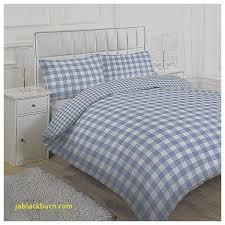 large tonal gingham check duvet cover set blue 0