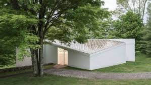 restoration work completes on sculpture gallery at philip johnson s glass house