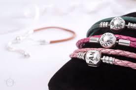597225cgt pandora sliding leather bracelet golden tan 7l