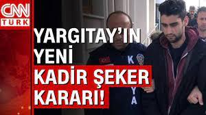 Yargıtay'dan Kadir Şeker davasında yeni hapis kararı! - YouTube