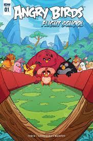 Read Angry Birds: Flight School Issue #1 Online