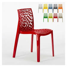 modern chair plastic. External Inner Polypropylene Chair Gruvyer \u2013 S6316, Modern Made Of Glossy Polypropylene, Stackable Plastic