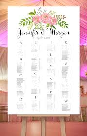 Seating Chart In Alphabetical Order