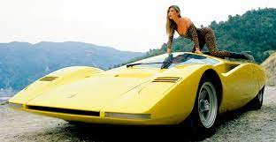 Just A Car Guy 1969 Ferrari 512s Berlinetta Speciale And Some Ridiculous Model That Should Never Have Been On The Car