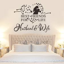 husband and wife best friend quote wall stickers home decor vinyl