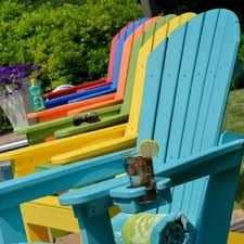 resin adirondack chairs outdoor