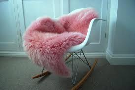 pink sheepskin rug john lewis hot faux pink sheepskin rug