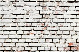 white old brick wall background