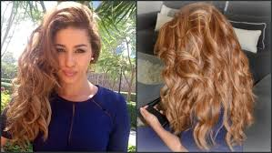Boucler Ses Cheveux Avec Un Lisseur Fa On Bombshell De Victorias Secret Astuces Inside Volume Youtube