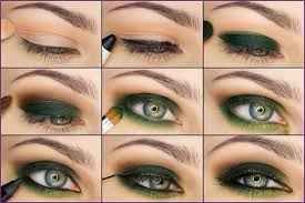how to apply eye makeup for gray eyes