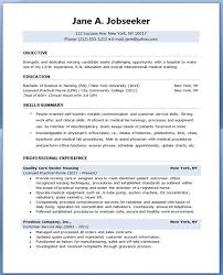 Nursing Resume Objective New Medical Surgical Rn Resume Simple Way