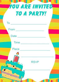 Free Printable Birthday Invitation Templates For Kids Invitations For Birthday Party Templates Free Printable Birthday