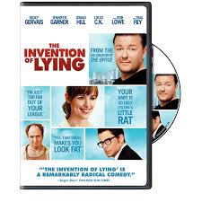 the invention of lying social satire