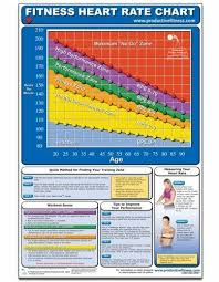 Workout Heart Rate Chart Fitness Heart Rate Chart Poster Mike Jespersen For Sale