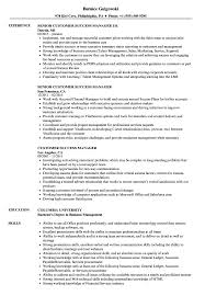 Customer Success Manager Resume Examples Customer Success Manager Resume Samples Velvet Jobs 1