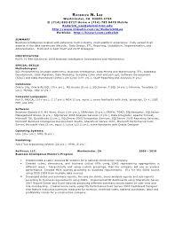 perl programmer resume resume
