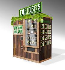 High Tech Food Vending Machines Cool Skip The Snickers And Go For The Superfood Salad At These New
