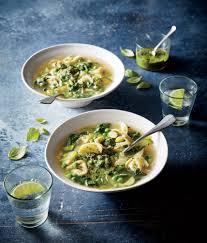 Easy Light Summer Soups Minestrone Verde