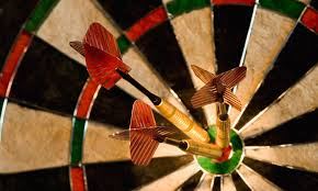 Darts Points Chart How To Always Win At Darts Using Your Poor Aim To Your