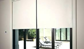 roll down curtains pull down curtains pull down shades for sliding glass doors by pull