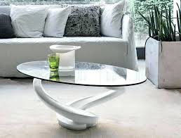 white oval glass coffee table marble shark oval coffee table white gumtree sydney