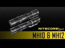 <b>Nitecore</b> MH10 & MH12 1000 Lumen USB Rechargeable LED ...