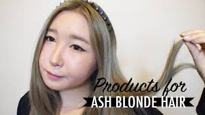 How To Achieve Ash Blonde Hair