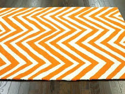 orange chevron rug home design ideas and grey white area orange chevron rug