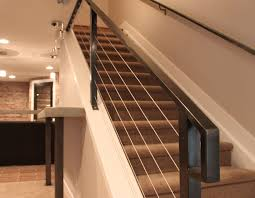 Interior Cable Stair Railing Kits