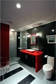 red bathroom black and red bathroom red and black bathroom red bathroom decor ideas photo 6