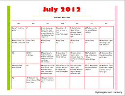 Summer Daily Schedule Template 27 Images Of Summer Camp Activity Schedule Template Netpei Com