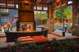 los gatos renovation contemporary patio san francisco by rh houzz com double sided outdoor fireplace kits double sided fireplace outdoor