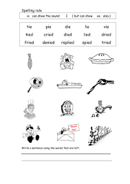 On page 6 of phonics sound s book, we have letters in uppercase. Spelling Worksheet Ie Teaching Resources
