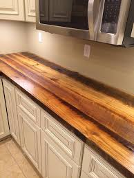 reclaimed poplar countertop ky wisewood within decor 0