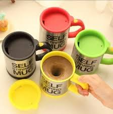 Exquisite stainless steel + food grade pc double insulated design, safe and can keep your drink warm for a long time. Amazon Com Dm The Self Stirring Mug Assorted Color Coffee Cups Mugs