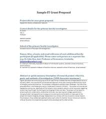40+ Grant Proposal Templates [Nsf, Non-Profit, Research] - Template Lab