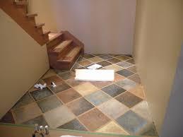 amazing faux slate floor tiles pictures flooring area rugs hand painted faux slate tile floor beautiful