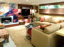 Teen Game Room Ideas Modern Game Room With Wood Coffee Table Style
