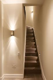 Astonishing Basement Stair Lighting Ideas Images Decoration Ideas ...