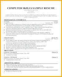 Good Example Skills For Resume Based Examples Cv Socialum Co
