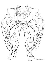 Small Picture wolverine coloring pages free vonsurroquen