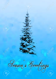 Seasons Greetings Christmas Card With The Words Seasons Greetings