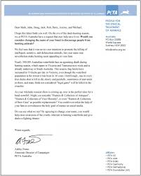 peta asks band hunters collectors to make compassionate peta letter to hunters collectors