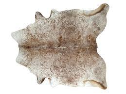 skin rug goat speckled cowhide turgor skin rug