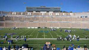 Falcon Stadium Section M22 Row Aa Seat 22 Air Force