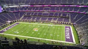 New Minnesota Vikings Stadium Seating Chart 46 Complete Us Bank Stadium Seating Map
