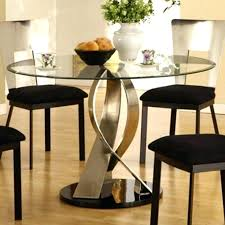 round glass top dining table set circle kitchen table set dining tables astonishing glass top dining