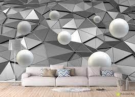 Photo Wallpaper with 3D Effect - Balls ...